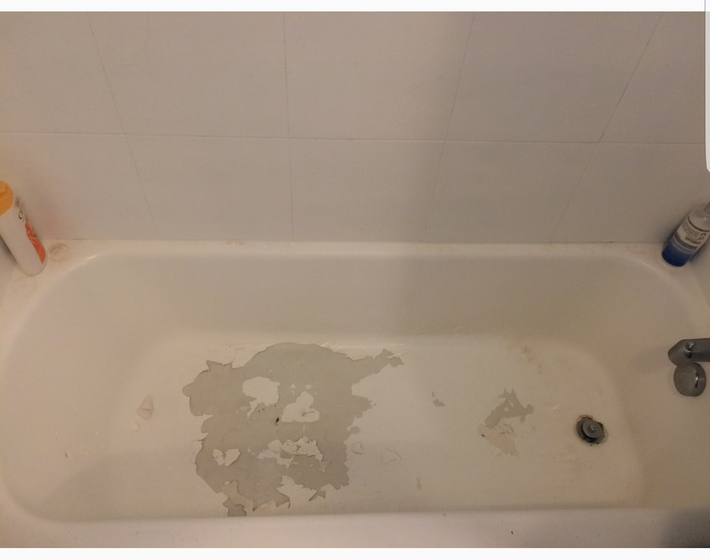 Here Is A Refinished Bathtub That Has Had The Slip Resistant Floor  Installed. Itu0027s Almost Invisible, And Will Not Make Your New Surface  Difficult To Clean.